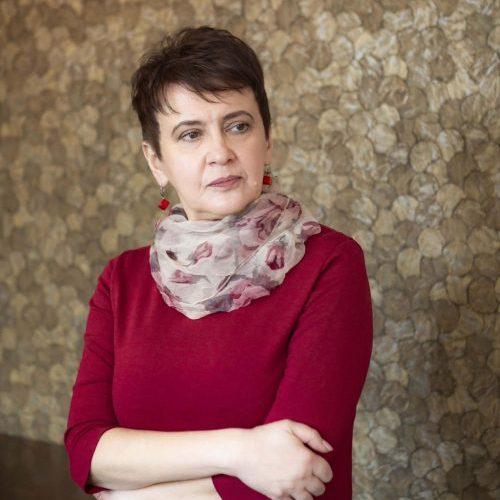 Image to Oksana Zabuzhko