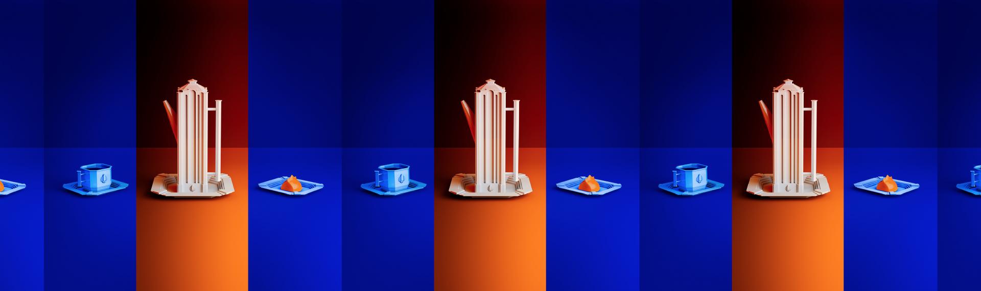 3D-інтерпретації каунаської модерністської архітектури