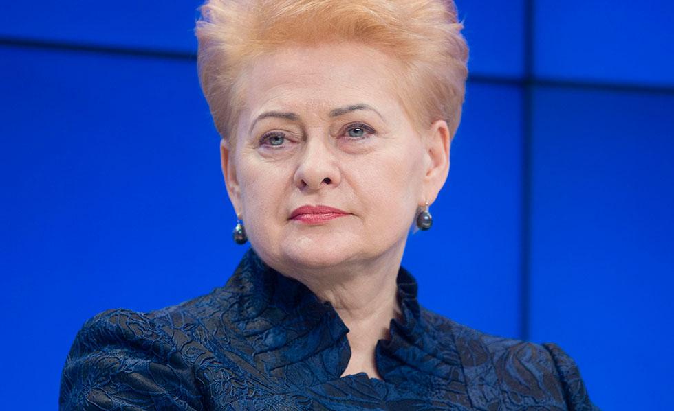Image to Dalia Grybauskaitė